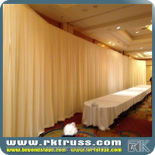 RK wedding chiffon chuppah pipe and drape for sale/circle pipe and drape