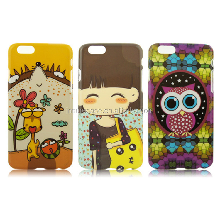 Assorted Pattern Cartoon Designs Hard Snap On ebay Cell Phone Covers Case for Apple iphone 6