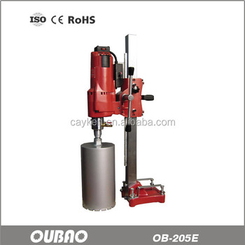 OUBAO OB-205E Vertical stand diamond core drilling machine