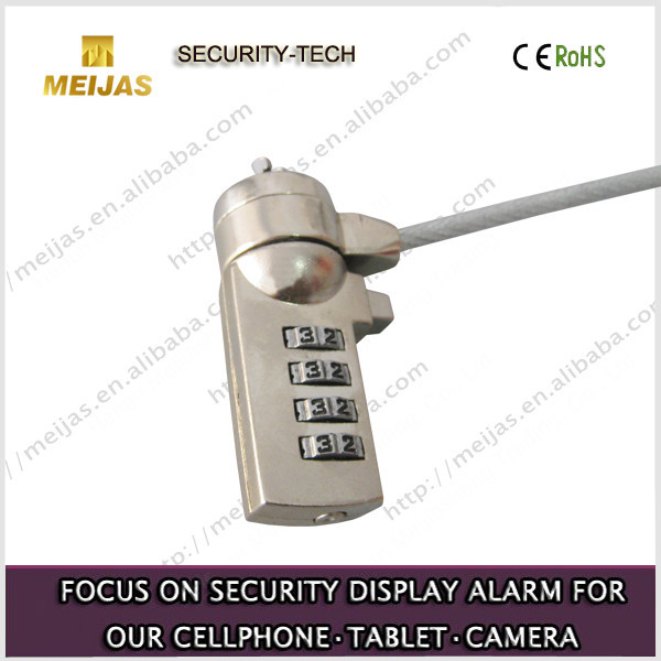 Popular 4 digits Portable Combination Laptop Lock