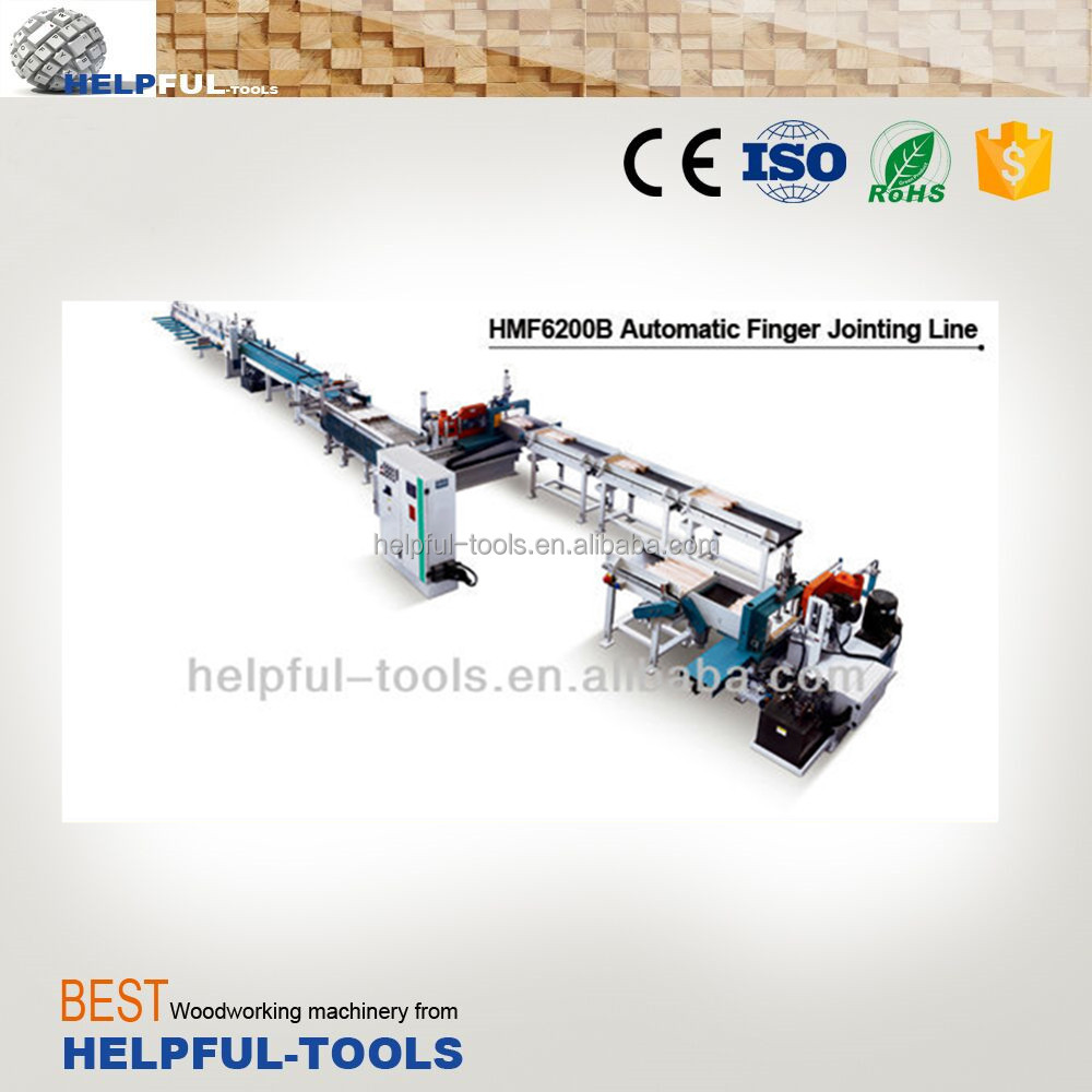 Helpful Brand Shandong Weihai HMF6200B, Automatic finger jointing line, wood finger joint machine,finger joint cutter