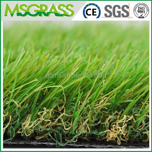 Artificial grass sport rubber flooring