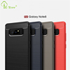 2017 New Brush Carbon Fiber Soft TPU Phone Case Back Cover for Samsung Galaxy Note 8