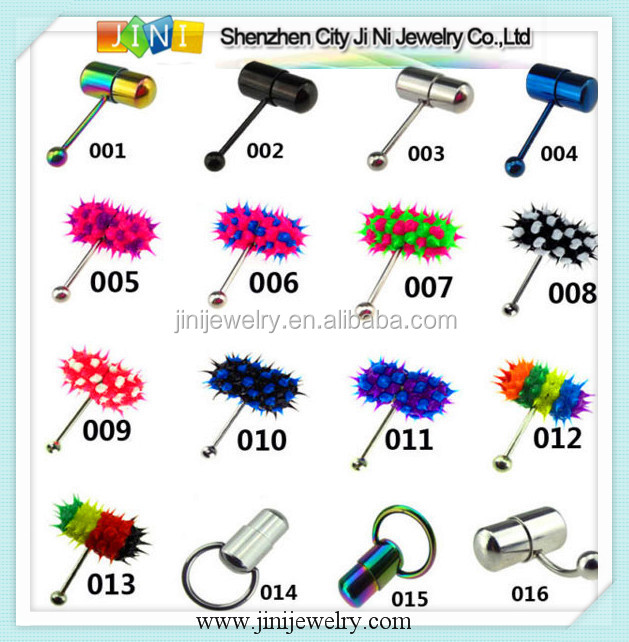 vibrating piercing body piercing jewelry