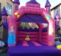 Pink inflatable bounce house/inflatable castle for sale