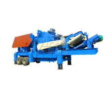 Rock mobile crushing station sold in Alibaba