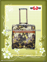 PU mini trolley travel luggage suitcase
