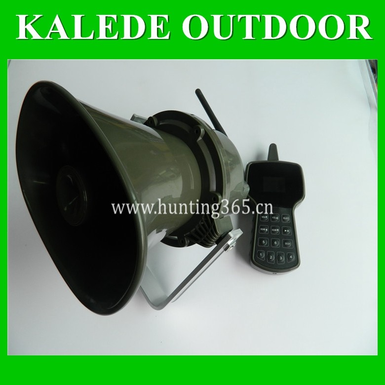 2016 newest game call with two-way synchronization remote built-in 50W speaker hunting device cp-590