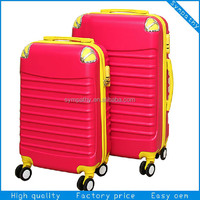 Factory price best wholesale beautiful design luggage set