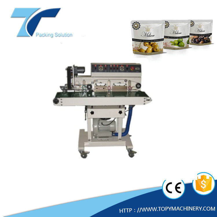 automatic intelligent continous plastic bag heat sealing machine