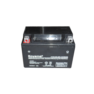 YTX9-BS -motorcycle battery 12V9Ah maintenance Free type