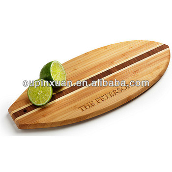 2014 vendita calda tavola da surf forma bamb tagliere da for Vendita bambu