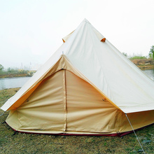 Family Camping Outdoor Bell Tent Easy Carried Outdoor Bell Tent