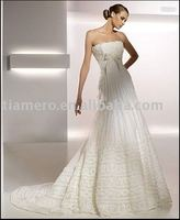 Strapless Lace 2011 new model wedding dress