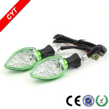 HOT High quality 3W 12V Yellow CYT IP67 Car/Motorcycle LED light Turn signal light