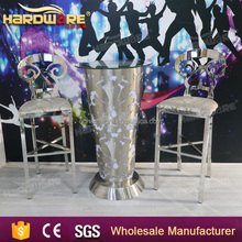 rechargeable high top bar tables and chairs led Illuminated furniture