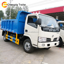 4x2 6 wheeler tipper truck Dongfeng 5T light truck for sale
