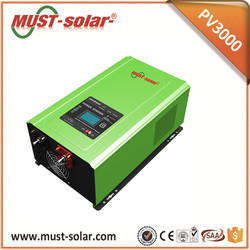24v 230v Off Grid Home Power Solar Inverter 3KW for Solar Panel 250W