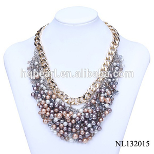 fashion new style beads necklace elegant jewelry