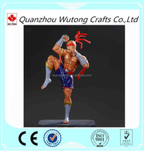 Artificial Statue Factory Customized Resin Thai Boxing Figurine