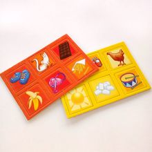 High Qualitty Paper Card Board Kids Custom Play Cards Printed Chessmen Card Game for Children's Toy Wholesale