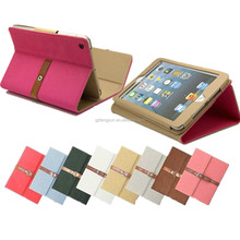 High Quality Leather Smart Case, Leather Case for ipad air 2 case