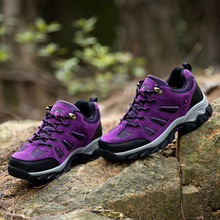 Unisex hiking shoes waterproof wholesale cheap sport shoes