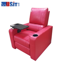 PU Leather Sofa Dual Motor Infinite Recline Electric Lift Recliner