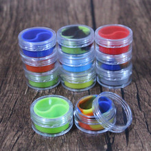 free samples large silicone container rectangle wax mate silicone oil container glass containers with the silicone insert