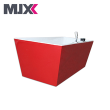 china good quality hot freestanding transparent hydro freestanding bath tub