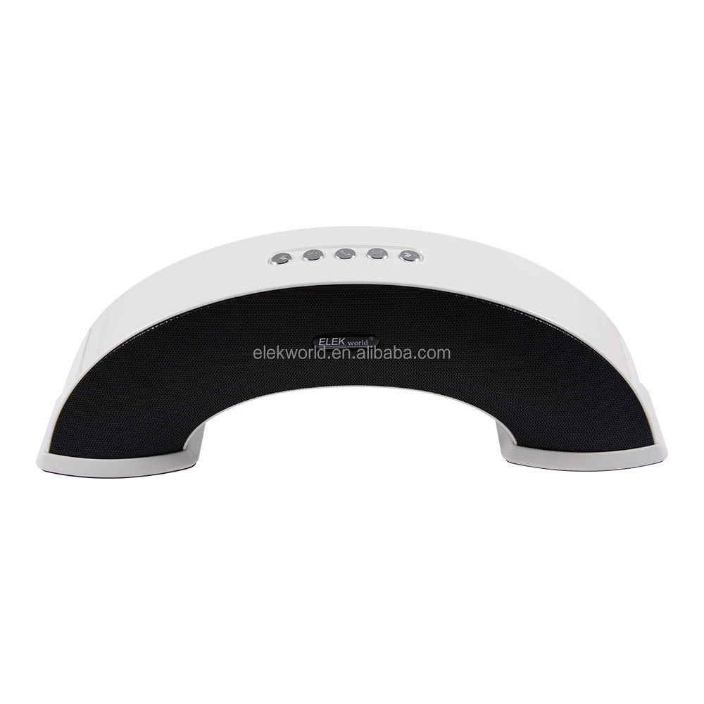 """Rainbow Bridge"" Wholesale Home HiFi wireless BT Stereo Speaker, support Call/FM/AUX/TF/USB Drive, w/package, OEM acceptable"