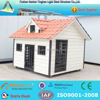 Steel prefab house dog house