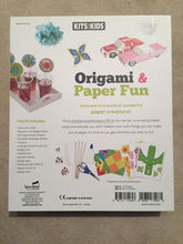 Hot Sell Kid Handcraft Kits Inside Origami Paper ,Ribbon,Googly Eyes,Scissor Fun Paper For School Stationery