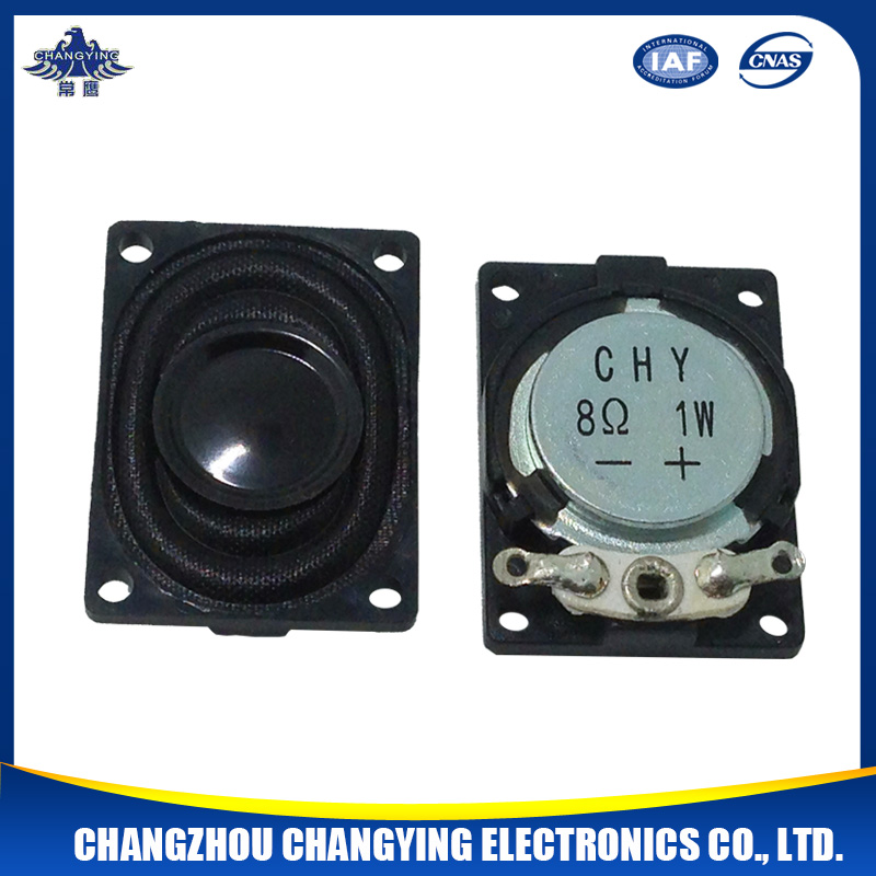 Fo~20KHz 1.5W 27mm speaker with good performance