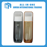 low price plastic air space drinking bottle