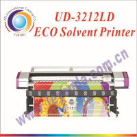 Hot! Galaxy digital eco solvent printing machine UD-3212LD with dx5 head 3.2m roll to roll eco solvent printer