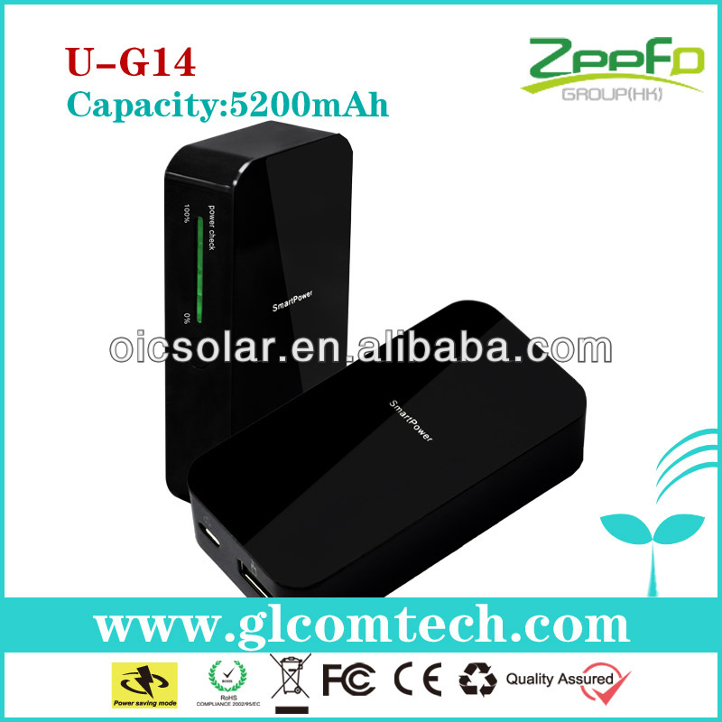 Hot new product for 2014 CE,FCC,RoHS best portable phone charger