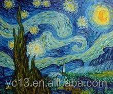 100% Handmade masterpieces reproduction Van Gogh Oil Painting (vg-005)
