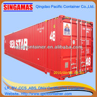 ISO standard 20ft/40ft/20hc/40hc/40gp/45ft/48ft/53ft shipping container with