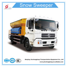 NJJ5163TCX Dongfeng Snow Removal Truck with 8000L Sand and Salt Spreader