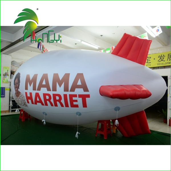 Large Cheap PVC0.18mm Inflatable Zeppelin Helium Balloon For Advertising
