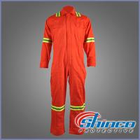 EN 11612 cotton flame retardant coverall