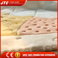Most popular printed & embossed baby blanket spain , made in spain blanket , blanket spain with low price