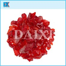 Wholesale colored crushed decorative glass chippings