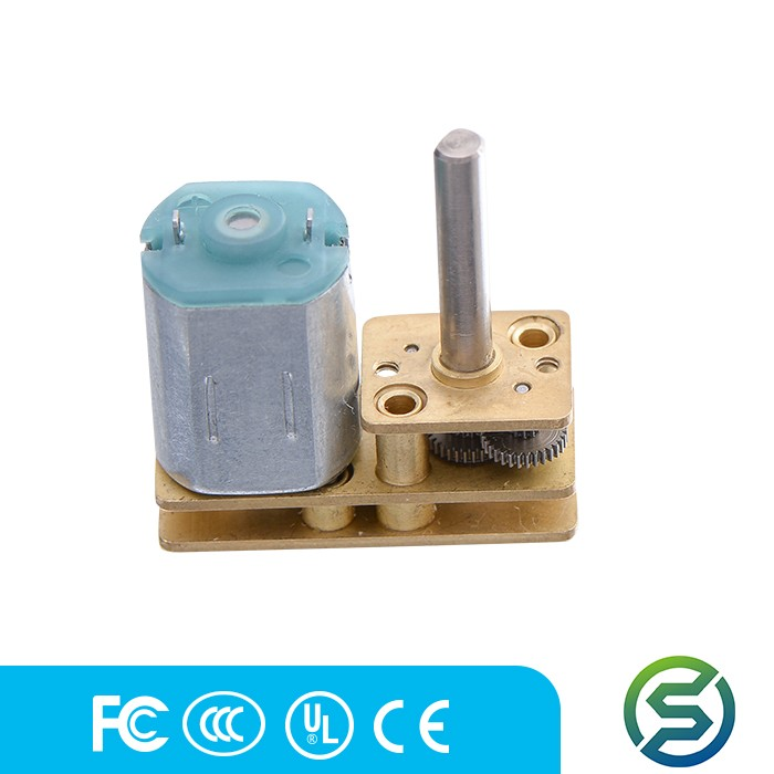 Customized 24 v dc gearmotor for homeappliance, toy car,medical equipment and door lock can match encoder with low price