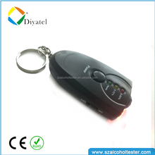 mini key chain personal breathalyzer consumer breathalyzer electronics