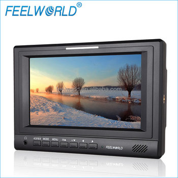 7inch 3G/HD/SD-SDI DSLR Monitor with F970 Battery Plate for Photography
