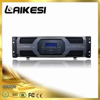 CMD1500 1500W/8ohm power amplifier with dispaly