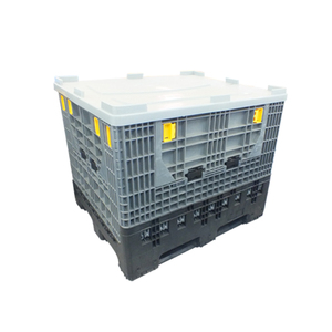 Plastic pallet box for auto parts transporting and storage