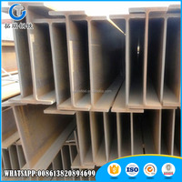 Chinese suppliers 2016 Top Quality steel h beam sizes list